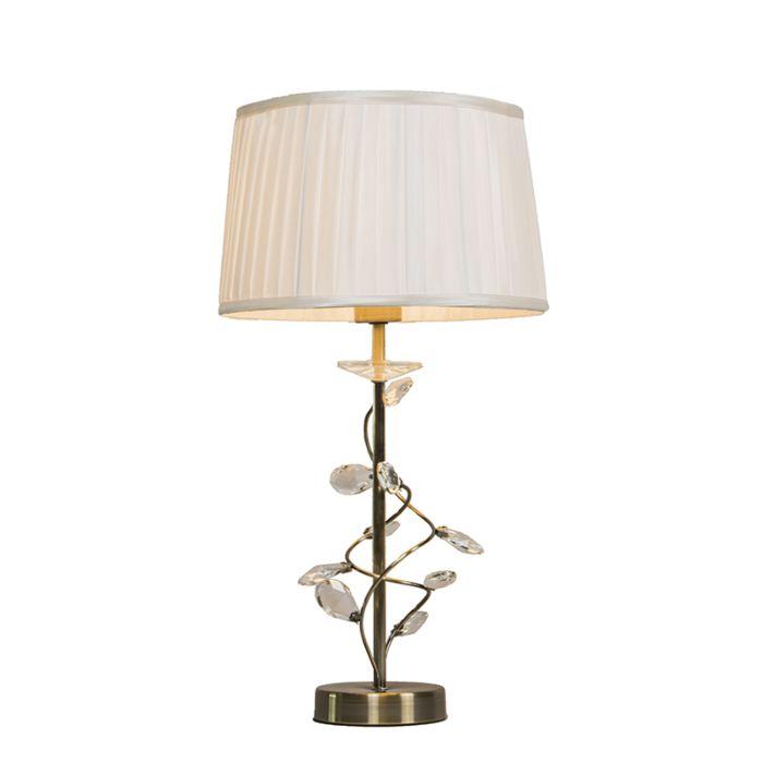 Lámpara-de-mesa-RUFFLE-bronce-envejecido