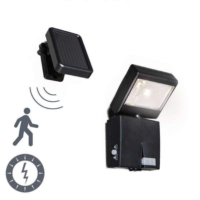 Proyector-de-exterior-DARK-LED-con-panel-solar