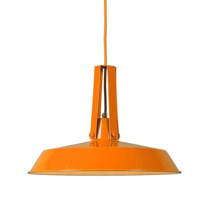 Lámpara-colgante-LIVING-40cm-naranja