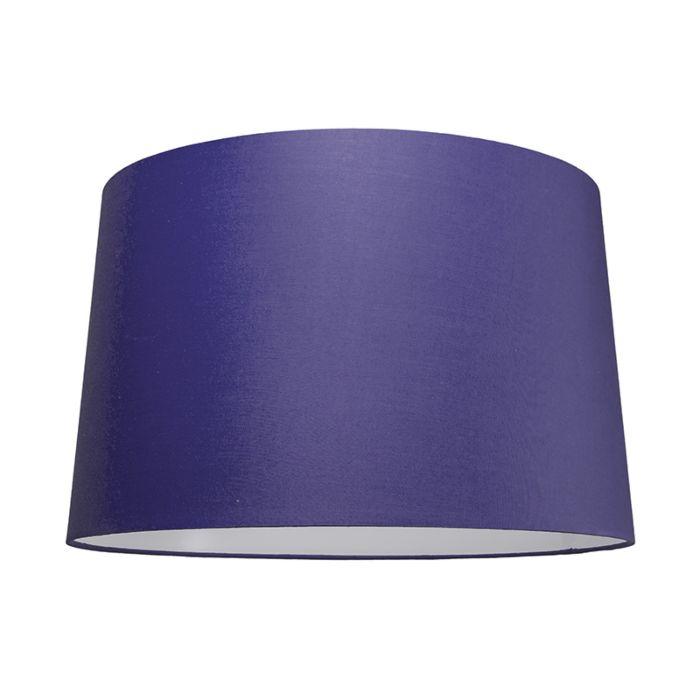 Pantalla-para-lámpara-colgante-50cm-cónica-SU-E27-lila