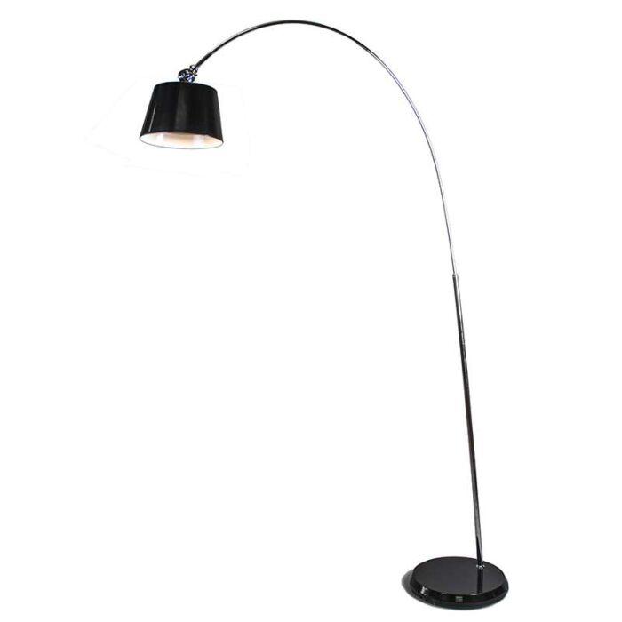Lámpara-de-arco-LED-negra