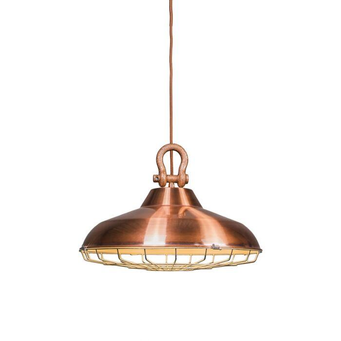 Lámpara-colgante-STRIJP-cobre
