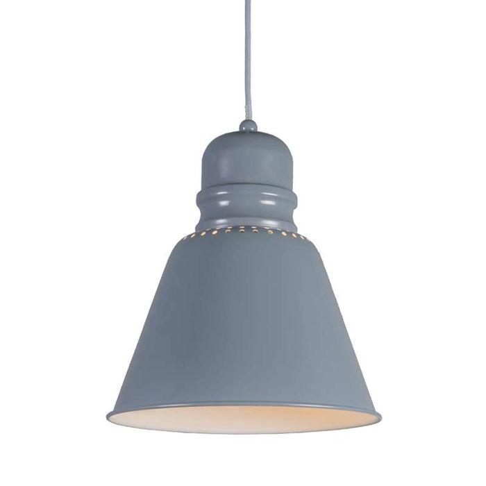 Lámpara-colgante-BRAVO-Gris