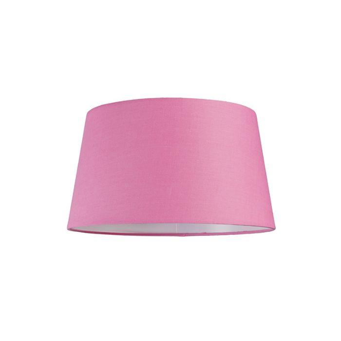 Pantalla-para-lámpara-colgante-30cm-cónica-SU-E27-rosa