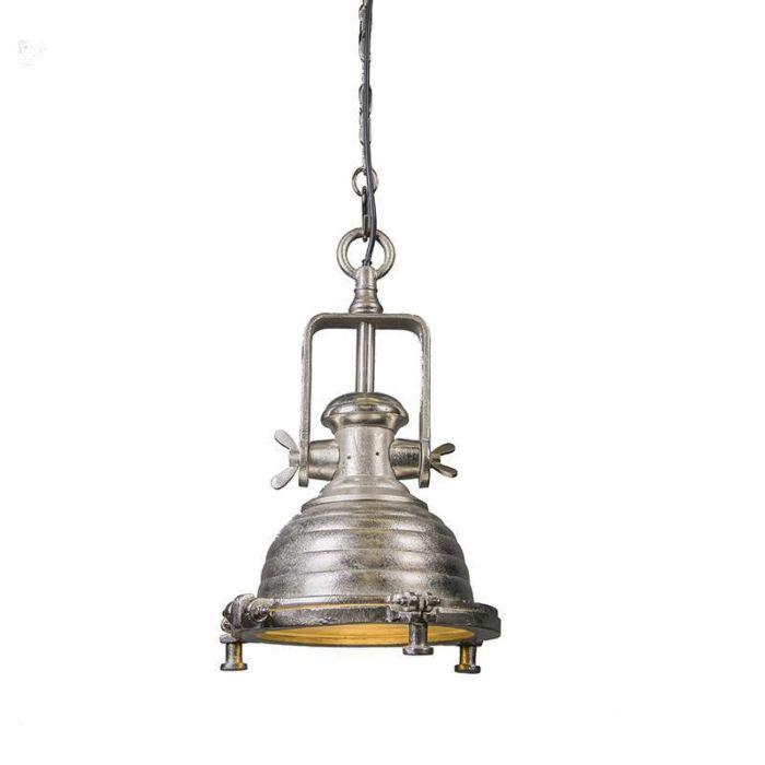 Lámpara-colgante-FORT-RAW-S-níquel