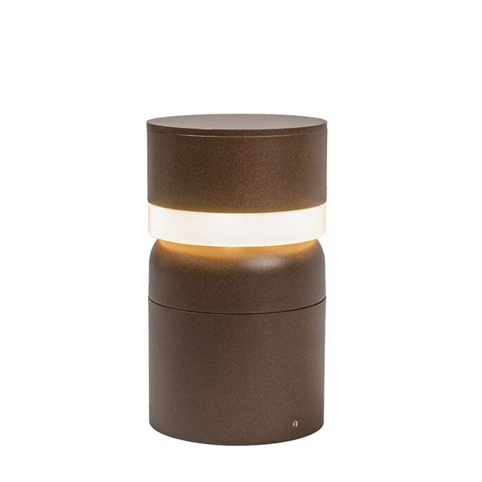 Baliza-TEMPEST-25cm-LED-color-óxido