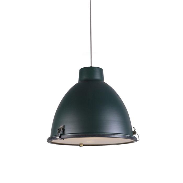 Lámpara-colgante-ANTEROS-38-verde-oscuro