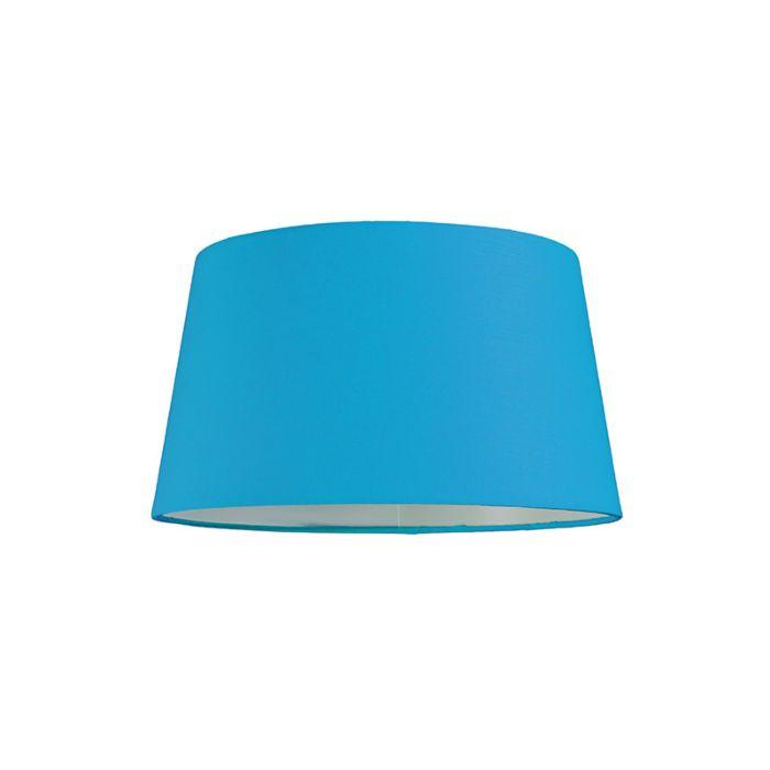 Pantalla-para-lámpara-colgante-30cm-cónica-SU-E27-azul-claro