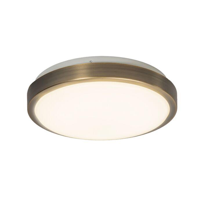 Plafón-AVANT-12W-LED-bronce