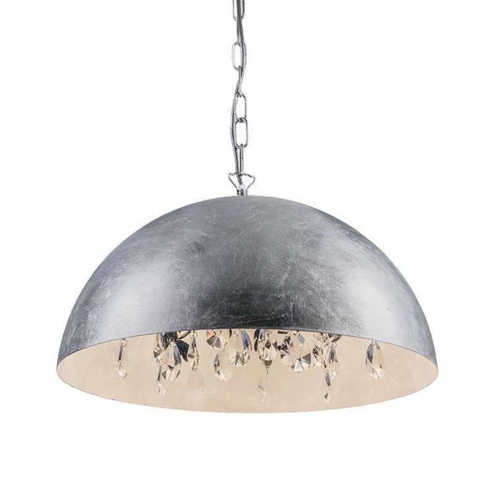 Lámpara-colgante-MAGNA-Delux-plata