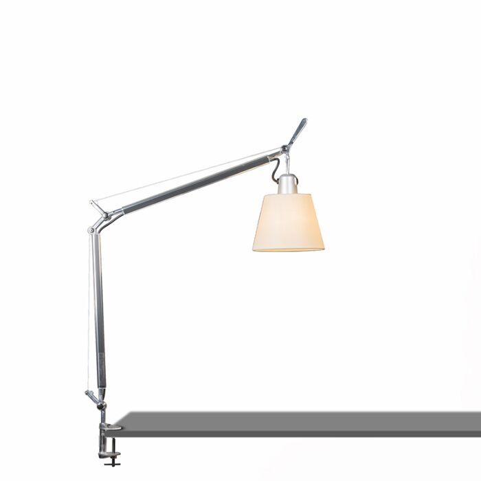 Lámpara-de-mesa-ajustable---ARTEMIDE-Tolomeo-Basculante