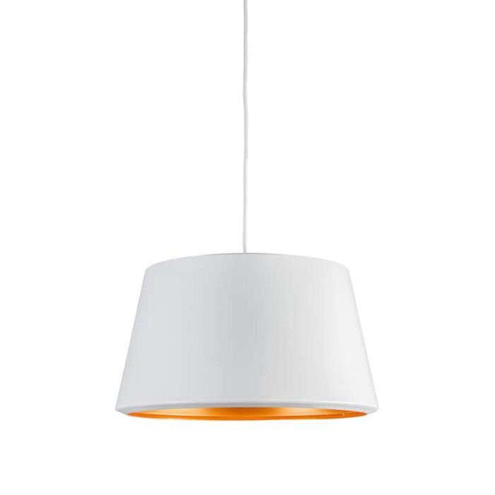 Lámpara-colgante-VEGAS-blanco/oro