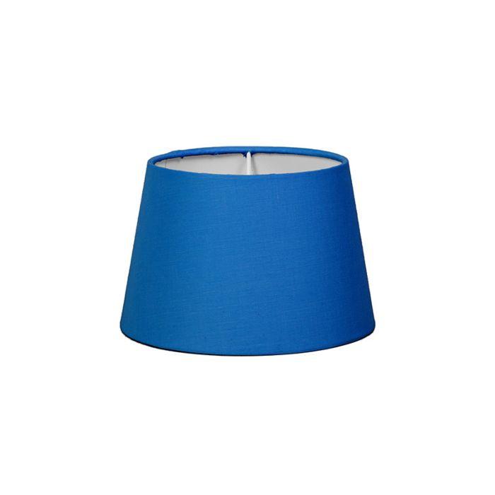 Pantalla-para-lámpara-mesa/aplique-18cm-cónica-SD-E27-azul