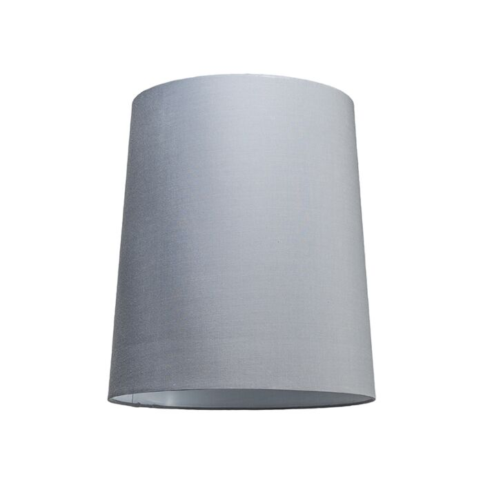 Pantalla-para-lámpara-colgante-35cm-cónica-SU-E27-gris-blanco
