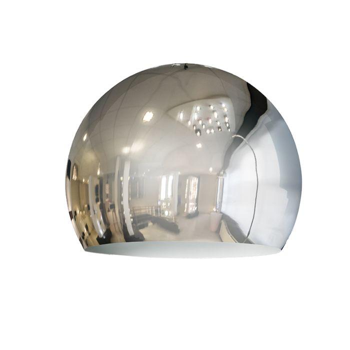 Pantalla-GLOBE-28cm-cromo
