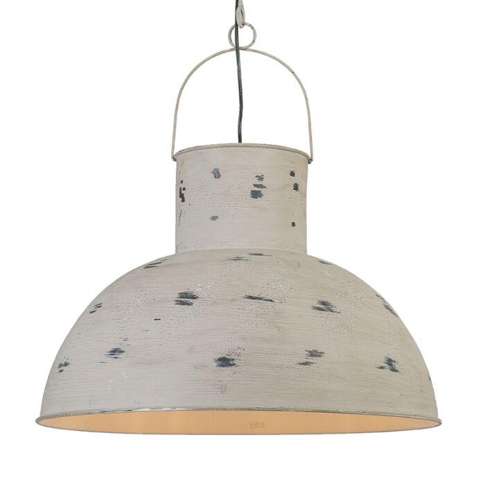 Lámpara-colgante-RUST-XL-gris-envejecido