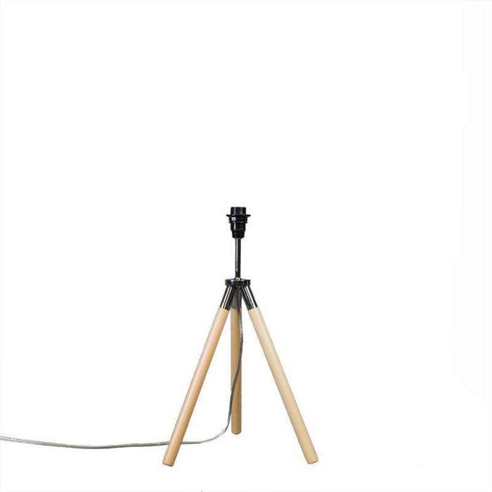 Lámpara-de-mesa-TREPPIEDE-madera-sin-pantalla