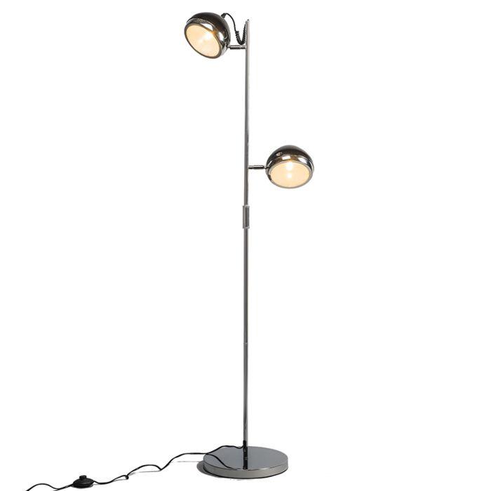 Lámpara-de-pie-BIKER-2-negra