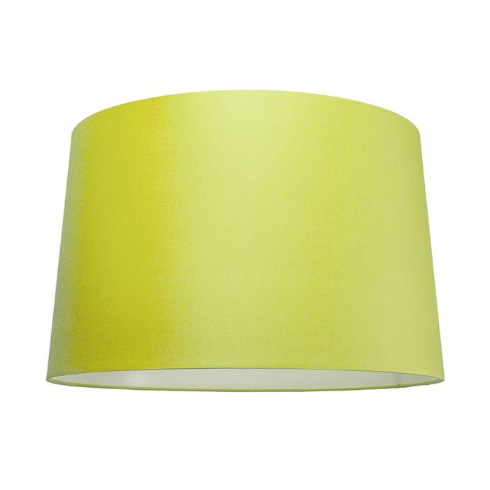 Pantalla-para-lámpara-colgante-50cm-cónica-SU-E27-verde