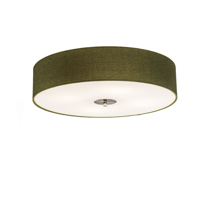 Plafón-rústico-verde-50-cm---DRUM-Jute