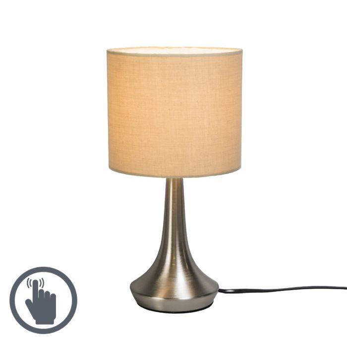 Lámpara-de-mesa-MILO-1-redonda-beige