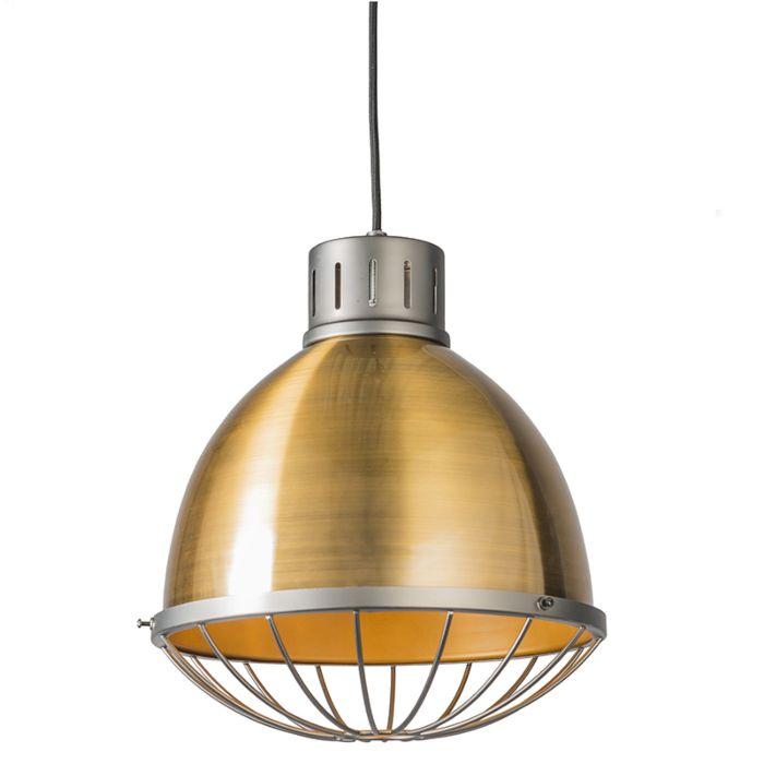 Lámpara-colgante-ORBITA-32-dorada