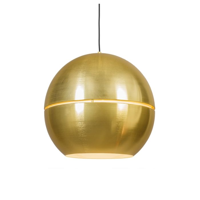 Lámpara-colgante-Art-deco-oro-50-cm---SLICE