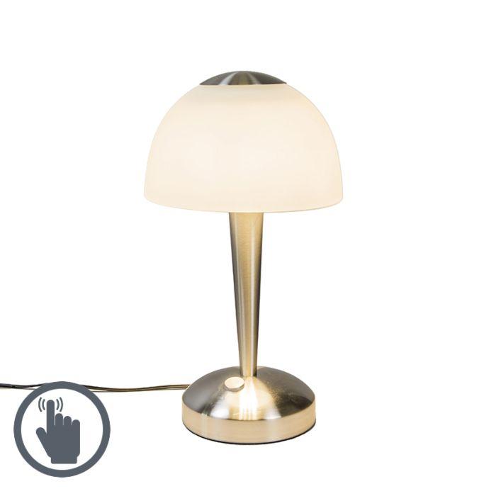 Lámpara-de-mesa-BAUHAUS-LED-acero