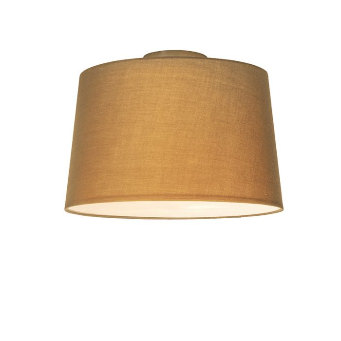Plafón-COMBI-40cm-beige-con-difusor
