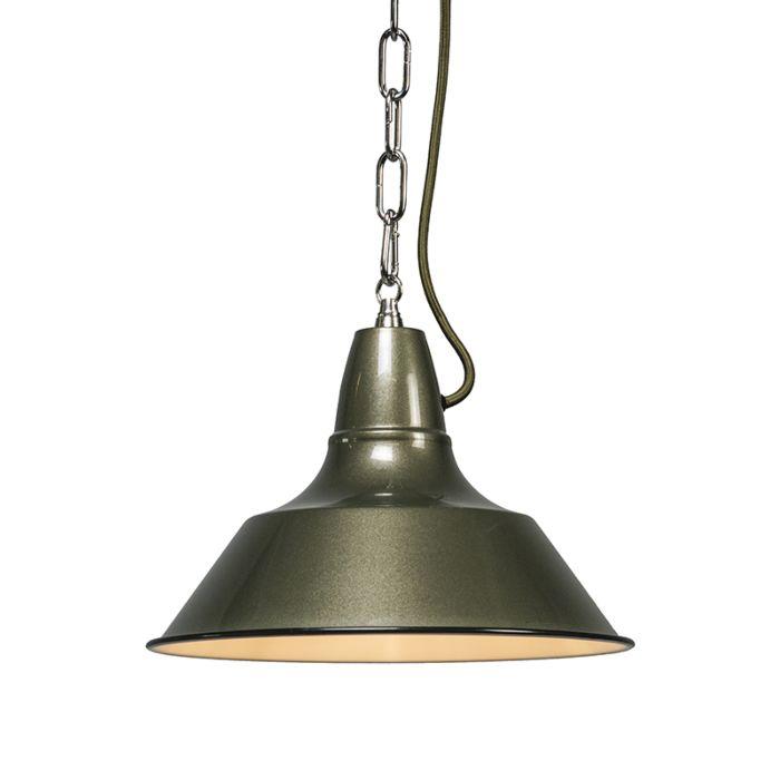 Lámpara-colgante-GESTEL-verde-grisáceo