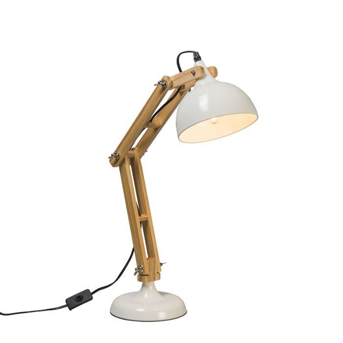 Lámpara-de-mesa-OFFICE-blanca