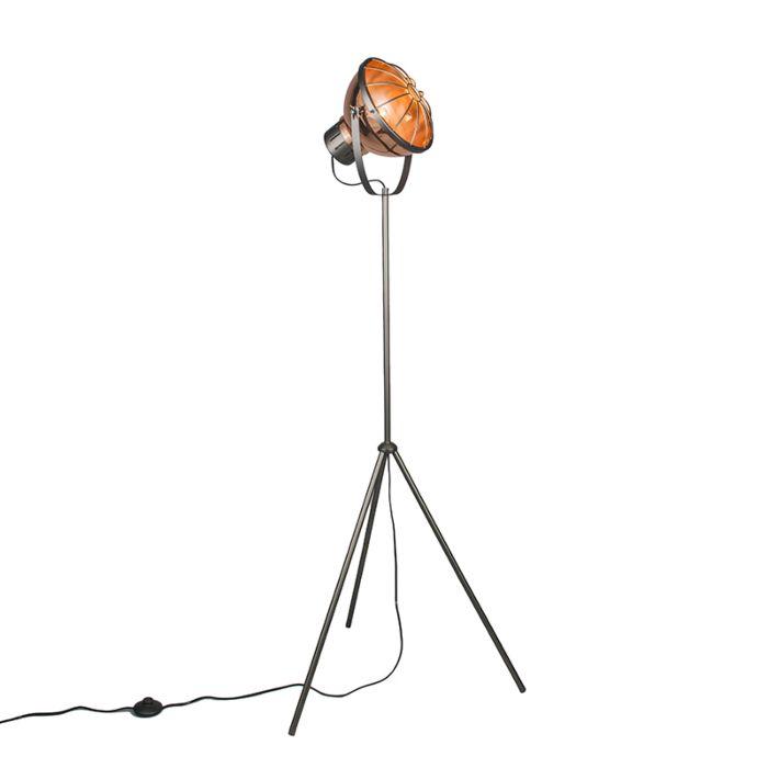 Lámpara-de-pie-ORBITA-cobre
