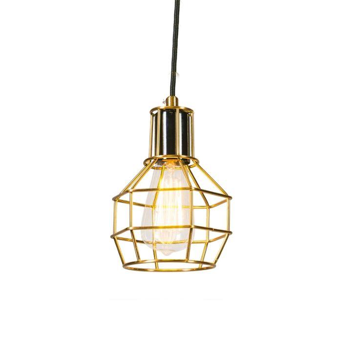 Lámpara-colgante-LICOR-oro