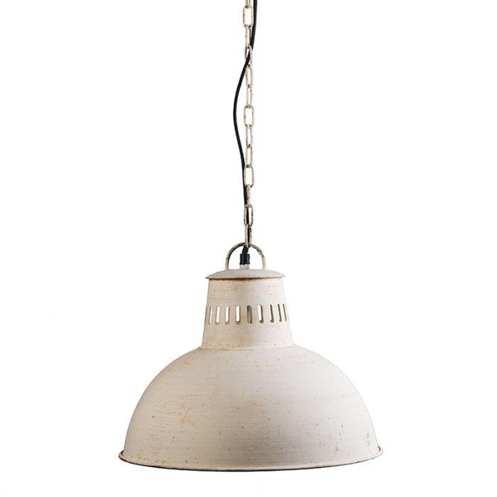 Lámpara-colgante-RUSTIC-blanco-envejecido