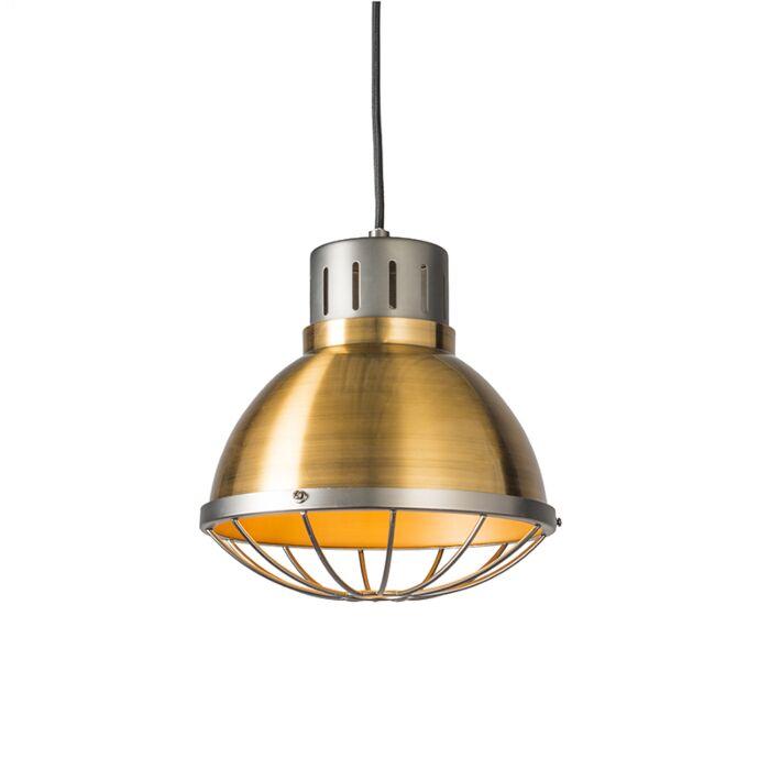 Lámpara-colgante-ORBITA-25-dorada