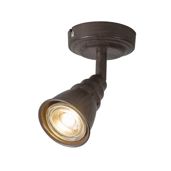 Techo-y-pared-mancha-giratoria-e-inclinación-marrón-oxidado---Coney-1