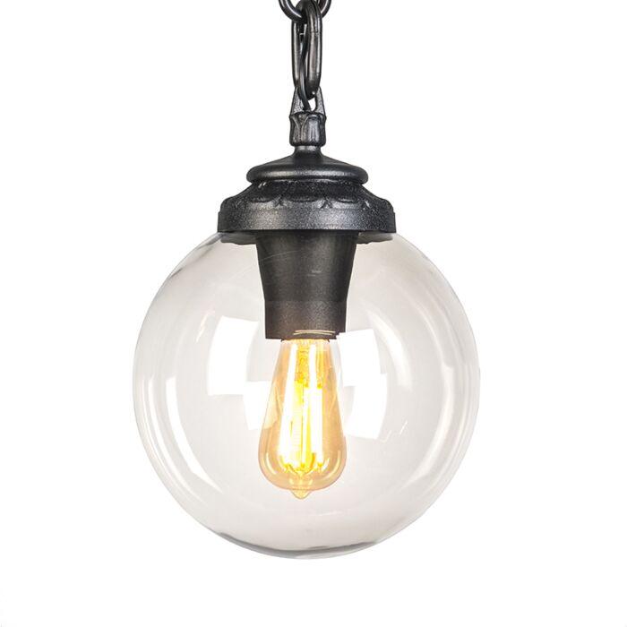 Lámpara-colgante-industrial-negra-IP55---SICHEM