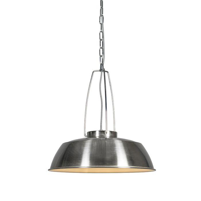 Lámpara-colgante-USINE-acero