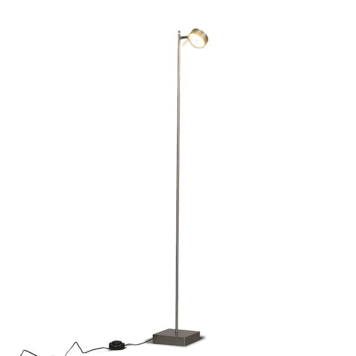 Lámpara-de-pie-LOUPE-1-acero