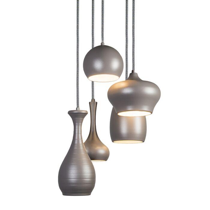 Lámpara-colgante-DROPS-5-gris