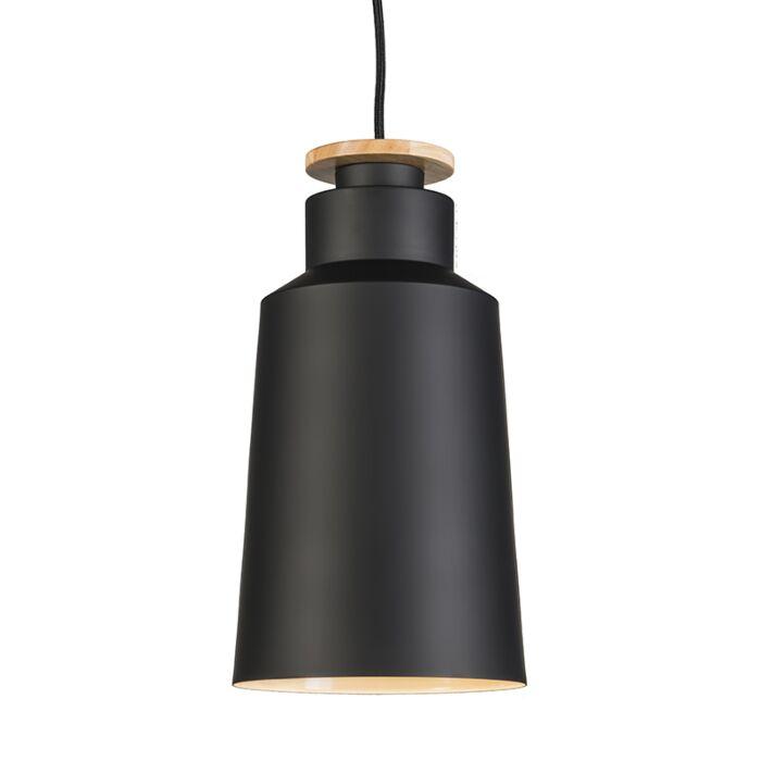 Lámpara-colgante-ORCHID-19-negra