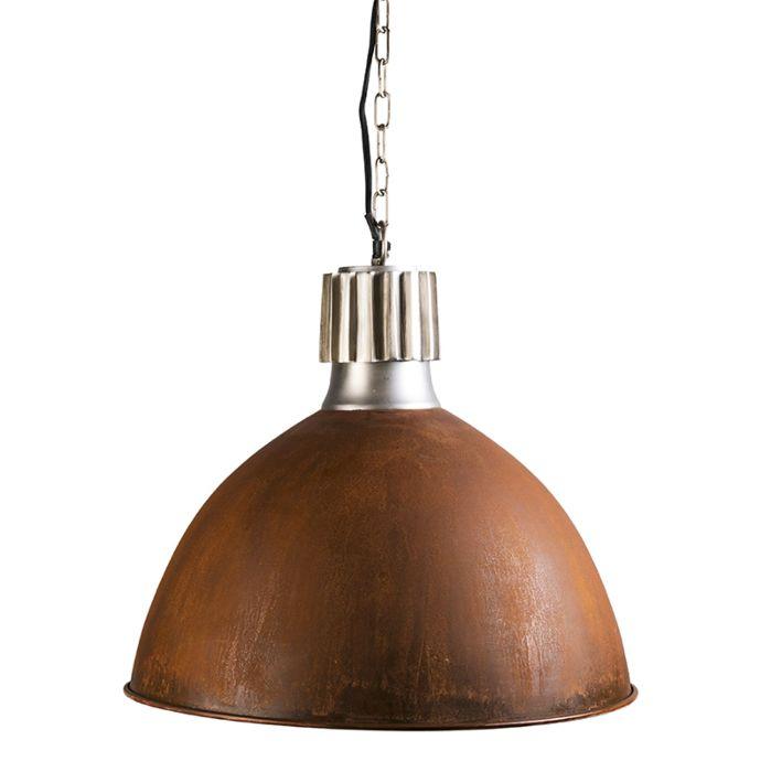 Lámpara-colgante-TOUGH-óxido