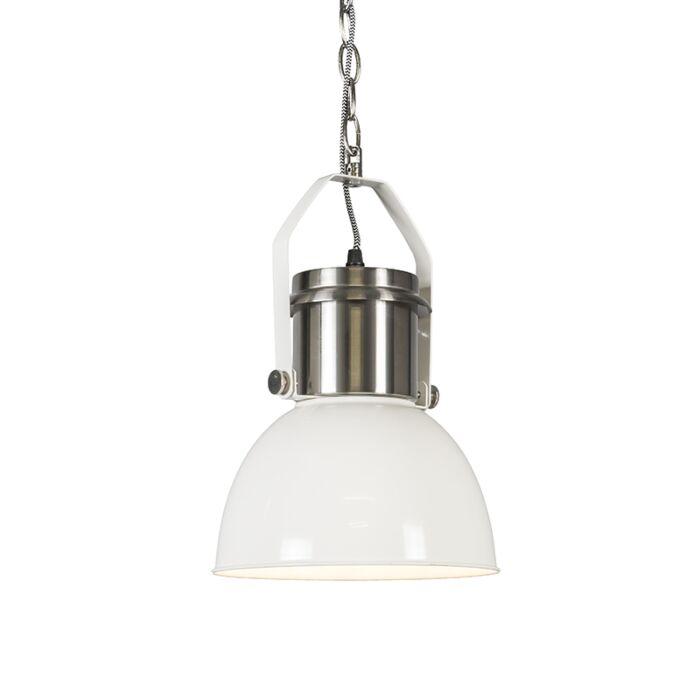 Lámpara-colgante-INDUSTRIAL-23-blanca