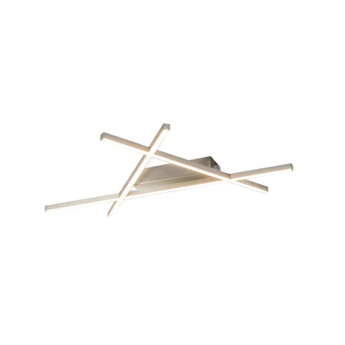 Pafonniere-de-diseño-en-acero-con-LED---Triángulo-Mikado