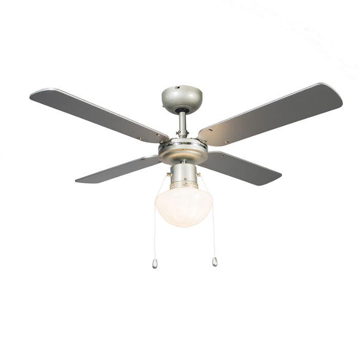 Ventilador-de-techo-WIND-42-gris-plateado