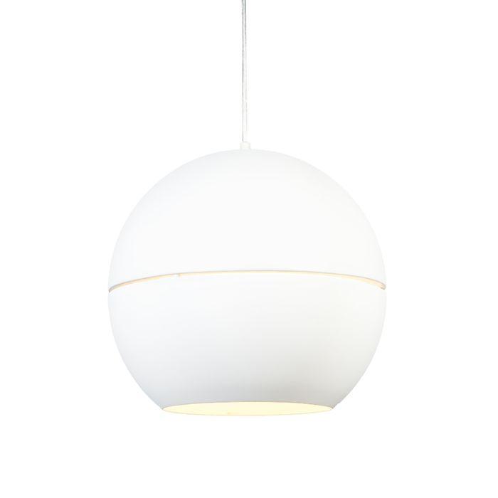 Lámpara-colgante-SLICE-40-blanco