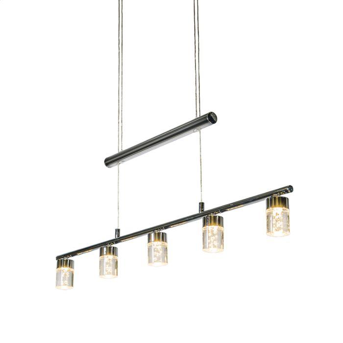 Lámpara-colgante-TRAY-5-acero
