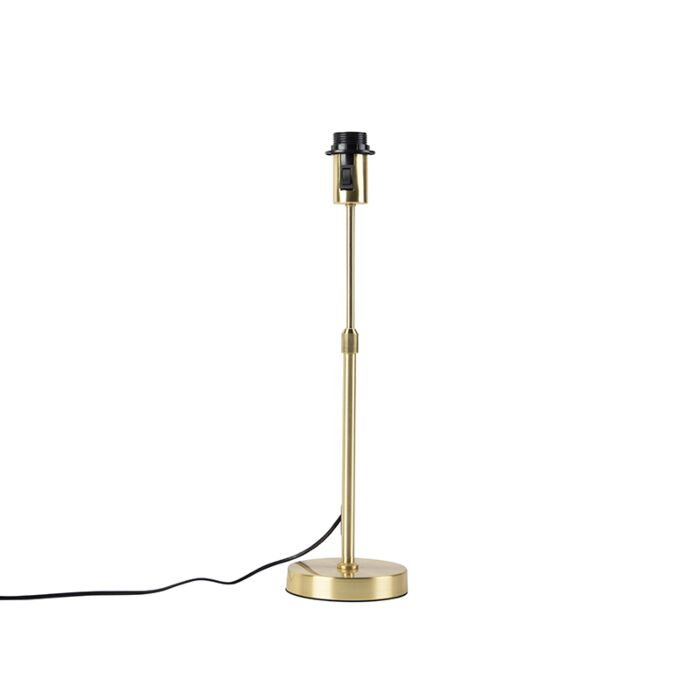 Lámpara-de-mesa-oro/latón-ajustable---PARTE