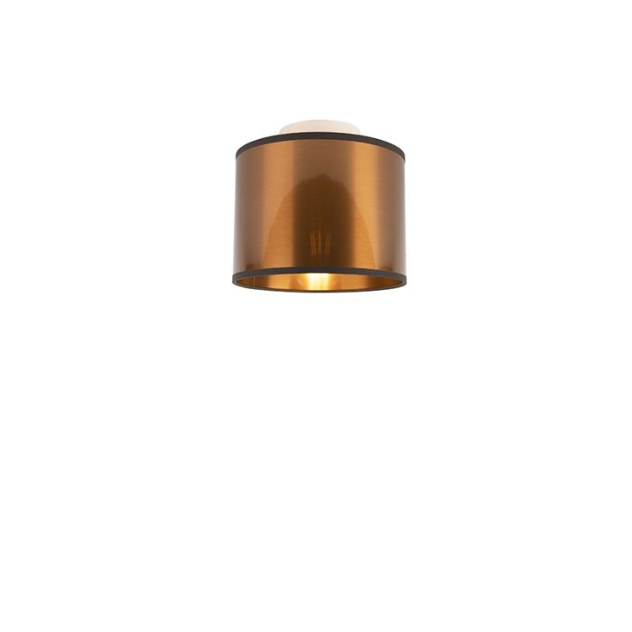 Lámpara-de-techo-cobre-20-cm---Tambor