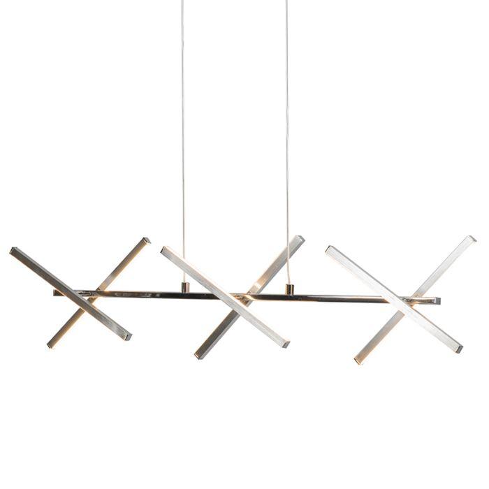 Lámpara-colgante-CROSS-acero